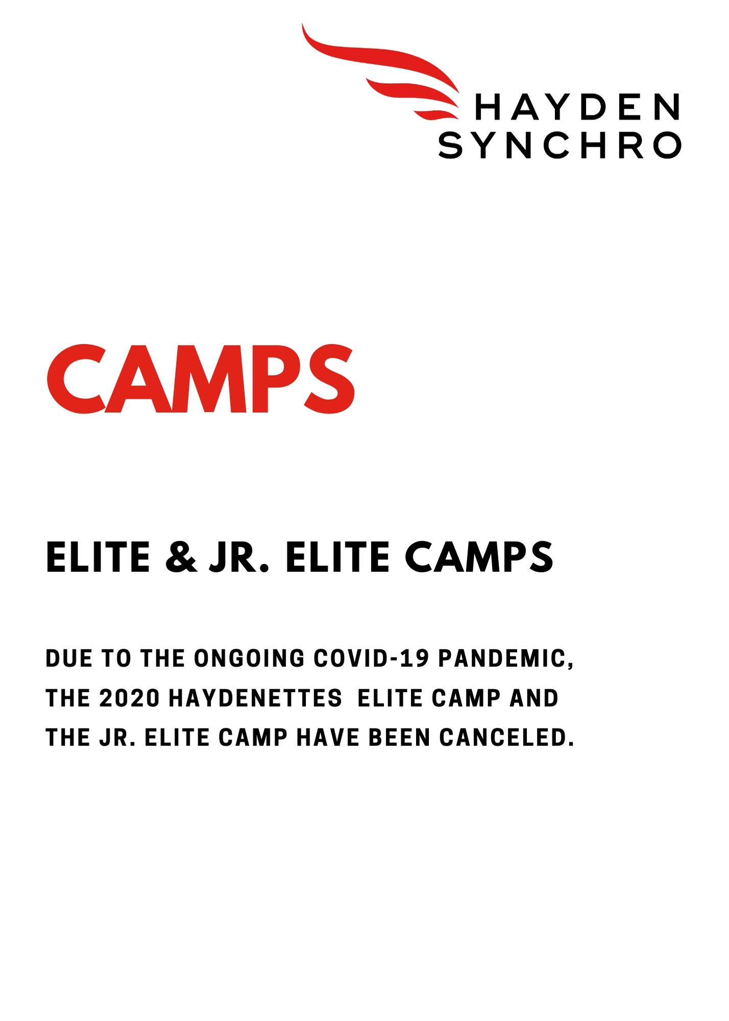 2020 Camps